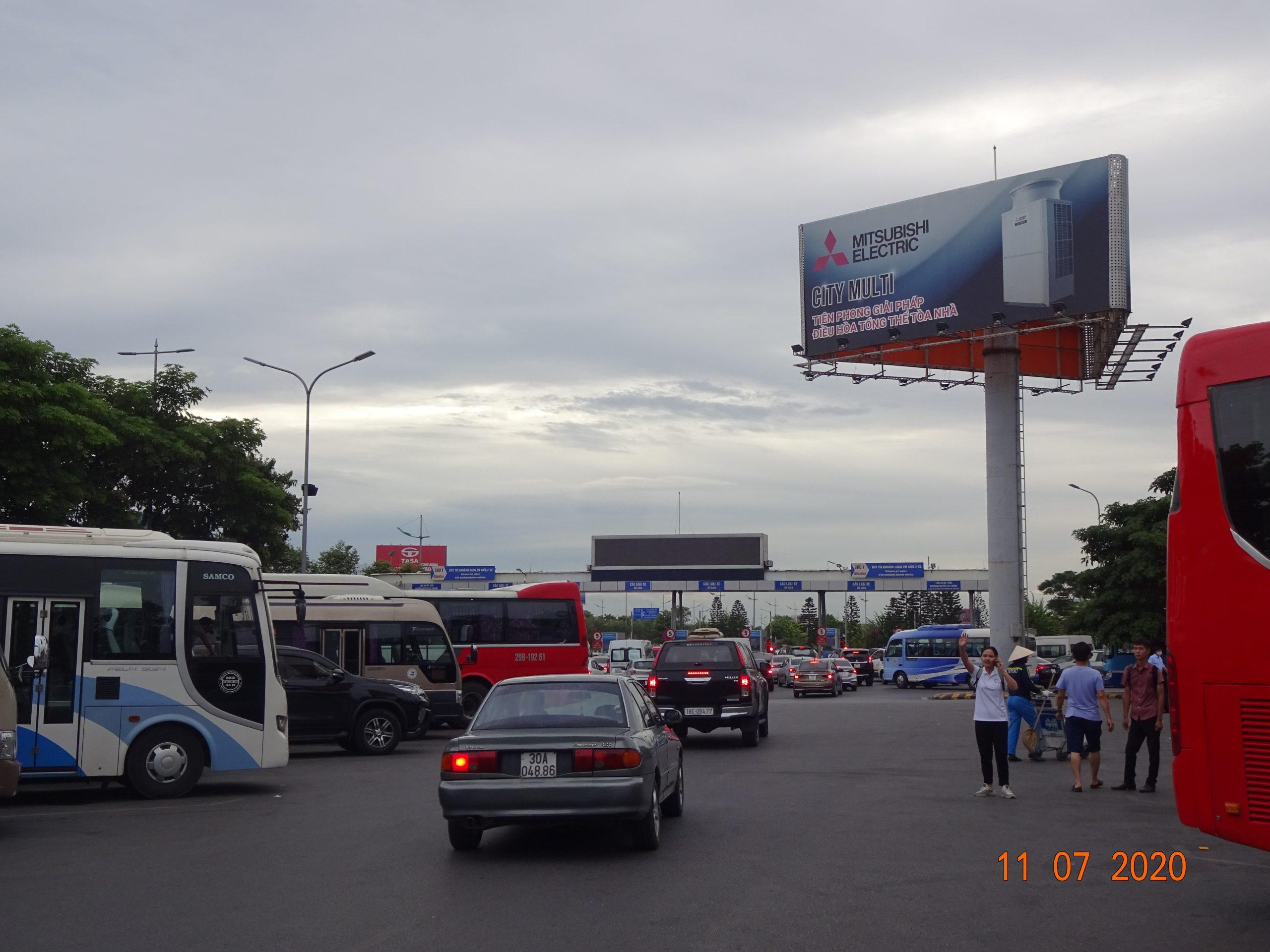 1 cột sân bay T1 Nội Bài